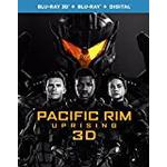 Pacific Rim Uprising (3D Blu-Ray and Blu-Ray Plus Digital Download) [2018] [Region Free]